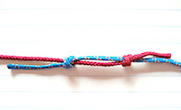 How to tie two ropes together